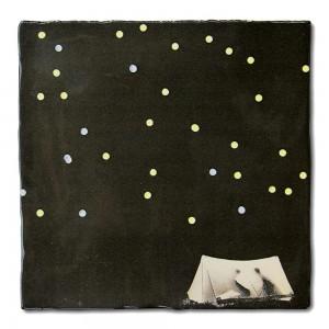 Azulejo Bajo Las Estrellas