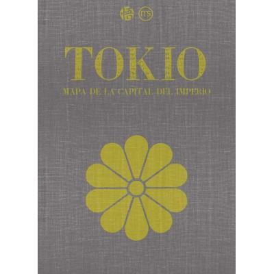 TOKIO - MAPA DE LA CAPITAL DEL IMPERIO