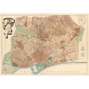 Mapa Barcelona De Narcís Oller
