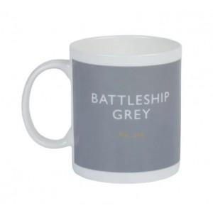 Taza De Té Gris Battleship