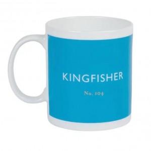 Taza De Té Azul Kingfisher