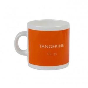 Taza De Taza Expresso Naranja Tangerine