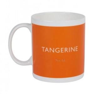 Taza De Té Naranja Tangerine