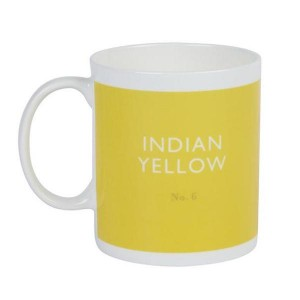 Taza De Té Indian Yellow