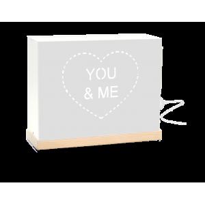 """Lámpara Mini """"You & Me"""""""