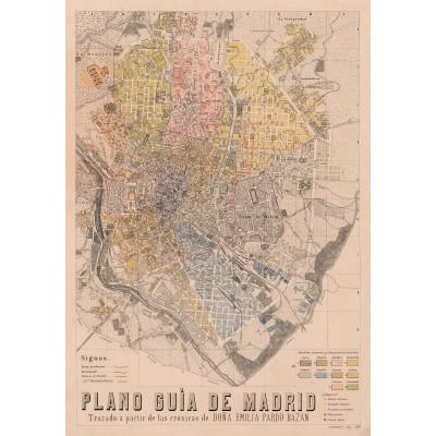 Mapa Crónica de Madrid Emilia Pardo Bazán