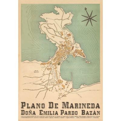 Mapa Marineda Emilia Pardo Bazán