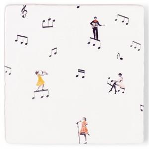 Azulejo Hay Música En El Aire