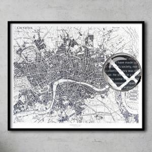 Lámina Libro Historia De Dos Ciudades