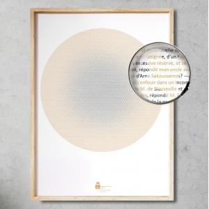 Lámina Libro Vieje al Centro de la Tierra