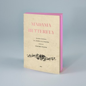 Cuaderno Ópera Mme Butterfly