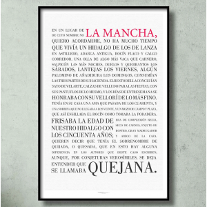 DON QUIJOTE DE LA MANCHA. WHOLE BOOK AND FIRST PAGE