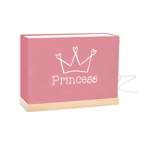 "Lámpara Kids ""Princess"" Rosa"
