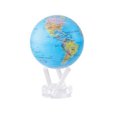 small world globe. Politic map