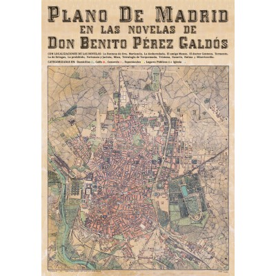 MADRID IN THE NOVELS OF BENITO PEREZ GALDÓS